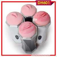 Âm đạo giả silicon bú mút đưa cậu nhỏ nên đỉnh DH601