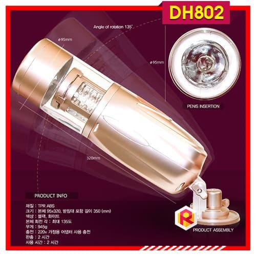 Âm Đạo Giả Tự Động Cao Cấp Telescopic Lover 2 DH802