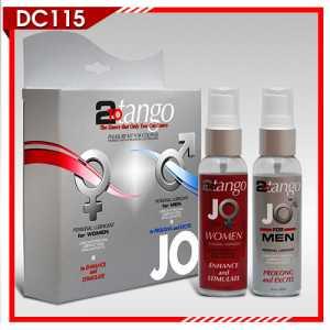 Gel bôi trơn Jo 2 Tango tăng khoái cảm cho nữ và chống xuất tinh sớm cho nam