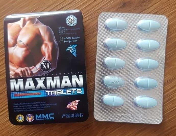 Cách quan hệ lâu ra với viên uống Maxman 03
