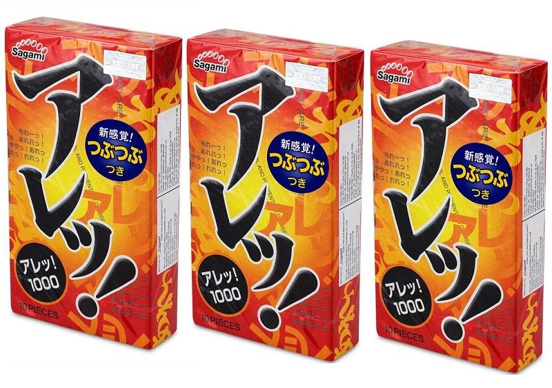 Bao cao su siêu mỏng Sagami Are Are mong manh nhưng khó vỡ 01