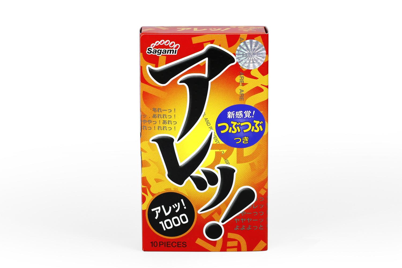 Bao cao su siêu mỏng Sagami Are Are mong manh nhưng khó vỡ 02
