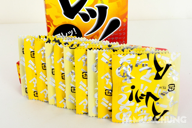 Bao cao su siêu mỏng Sagami Are Are mong manh nhưng khó vỡ 03