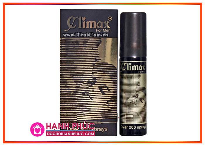Cách quan hệ lâu bằng thuốc xịt Climax an toàn, chất lượng2