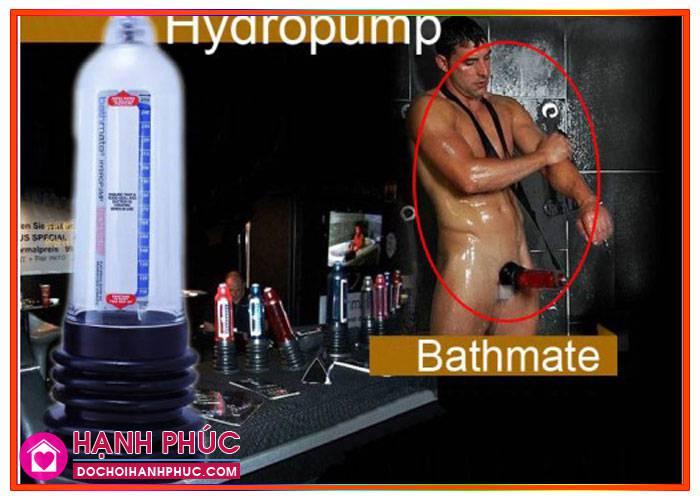 Tăng kích thước dương vật bằng máy tập Hydromax cao cấp1